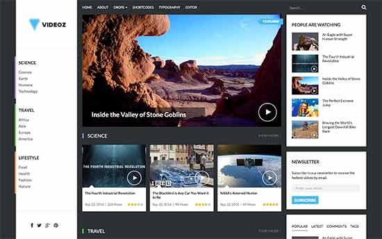 25 Best WordPress Video Themes (2017)